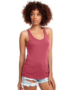 Next Level Ladies Ideal Racerback Tank N1533 Hot Pink