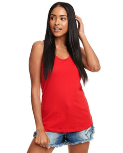 Next Level Ladies Ideal Racerback Tank N1533 Red