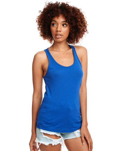 Next Level Ladies Ideal Racerback Tank N1533 Royal