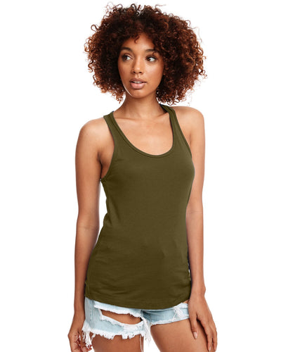 Next Level Ladies Ideal Racerback Tank N1533 Military Green