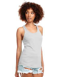 Next Level Ladies Ideal Racerback Tank N1533 Silver