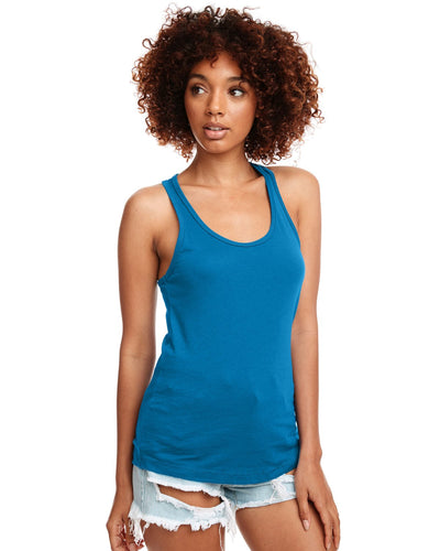 Next Level Ladies Ideal Racerback Tank N1533 Turquoise