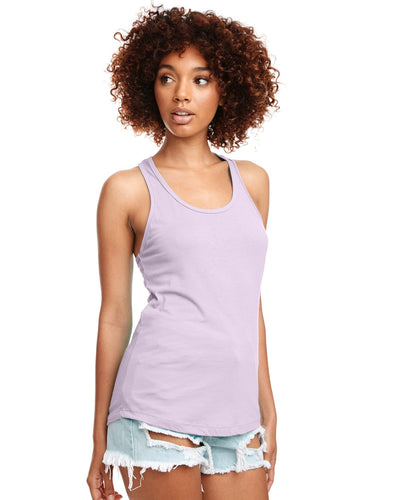 Next Level Ladies Ideal Racerback Tank N1533 Lilac