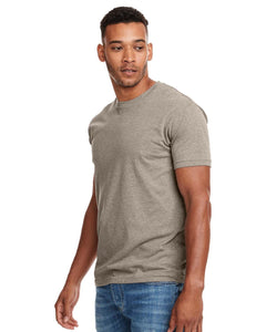 Next Level Mens Cvc Crew N6210 Stone Gray