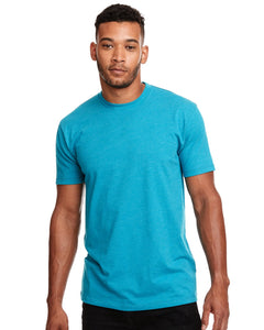 Next Level Mens Cvc Crew N6210 Tahiti Blue
