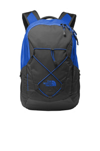 the north face groundwork backpack nf0a3kx6 monster blue asphalt grey