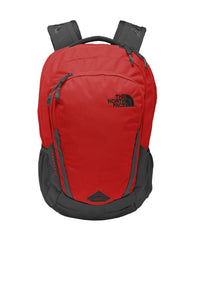 the north face connector backpack nf0a3kx8 rage red asphalt grey