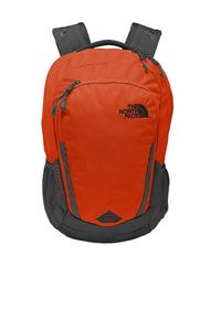 the north face connector backpack nf0a3kx8 tibetan orange asphalt grey