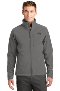 The North Face Asphalt Grey NF0A3LGT jacket company logo