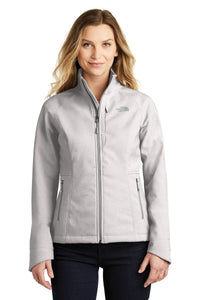 The North Face TNF Light Grey Heather NF0A3LGU business jackets with logo