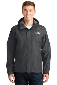 The North Face TNF Dark Grey Heather NF0A3LH4 promotional jackets company logo