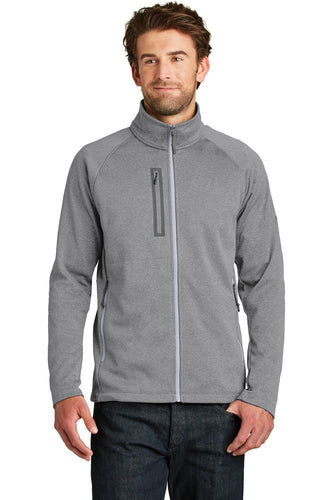 The North Face TNF Medium Grey Heather NF0A3LH9 promotional jackets company logo