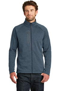 The North Face Urban Navy Heather NF0A3LH9 promotional jackets company logo