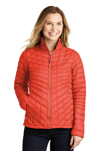 The North Face Fire Brick Red NF0A3LHK company logo jackets