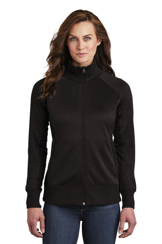 The North Face Ladies Tech FullZip Fleece Jacket NF0A3SEV TNF Black
