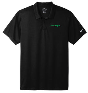 Nike Dry Essential Solid Polo, Black [deepwatch]