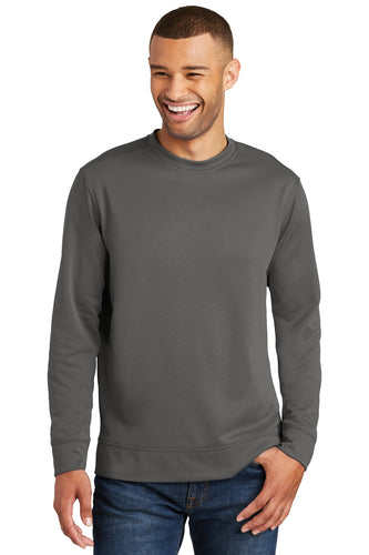 Port & Company Charcoal PC590 sweatshirts with logo printed