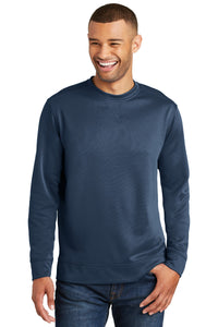 Port & Company Deep Navy PC590 sweatshirts with logo printed