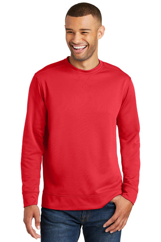 Port & Company Red PC590 sweatshirts with logo printed
