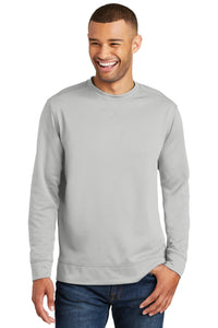 Port & Company Silver PC590 sweatshirts with logo printed