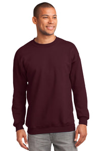 Port & Company Maroon PC90T custom design sweatshirts