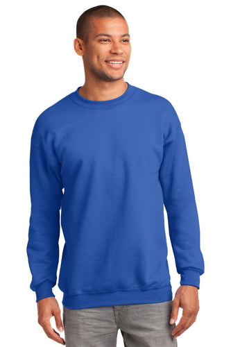 port & company_pc90t _royal_company_logo_sweatshirts
