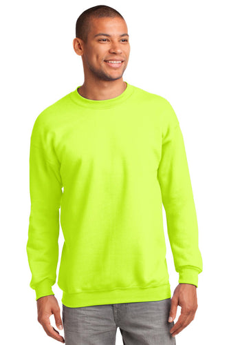 Port & Company Safety Green PC90T custom design sweatshirts