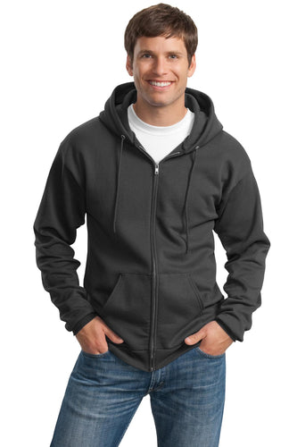 Port & Company Charcoal PC90ZHT sweatshirts with logos