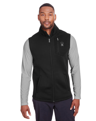 Spyder Black S16538  business logo jackets