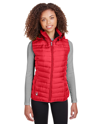 Spyder Red S16641  business logo jackets