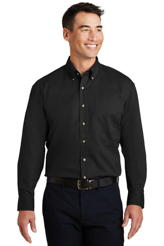 Port Authority Black S600T order embroidered polo shirts