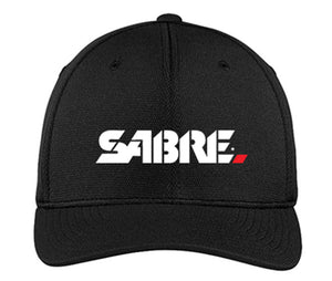 SABRE FLEXIFT COOL & DRY MESH CAP, Black [SABRE LAW ENFORCEMENT]