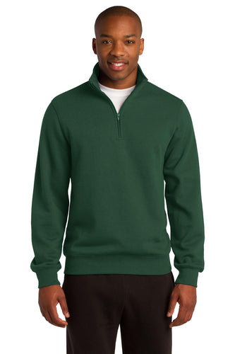 Sport-Tek Forest Green ST253 custom logo sweatshirts