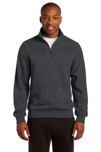 Sport-Tek Graphite Heather TST253 business sweatshirts with logo