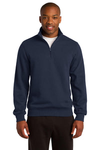 Sport-Tek True Navy ST253  custom logo sweatshirts