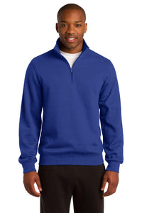 Sport-Tek True Royal ST253 custom sweatshirts with logo