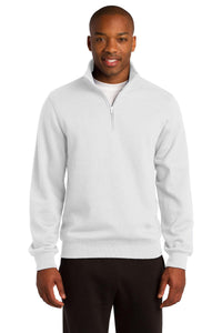 Sport-Tek White ST253  custom sweatshirts with logo