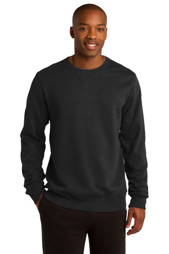 Sport-Tek Black ST266 custom sweatshirts with logo