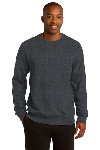 Sport-Tek Graphite Heather ST266 custom sweatshirts with logo