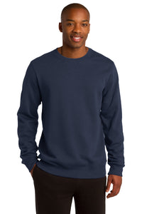 Sport-Tek True Navy ST266 custom sweatshirts with logo
