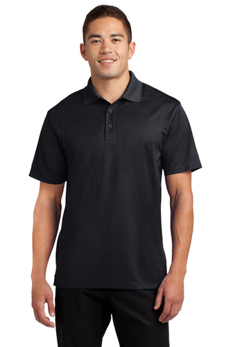 Sport-Tek Black TST650 business polo shirts embroidered