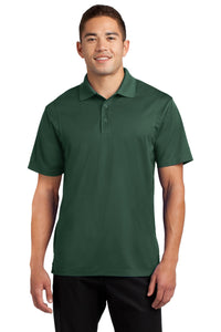 Sport-Tek Forest Green TST650 business polo shirts embroidered