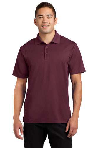 Sport-Tek Maroon TST650 business polo shirts embroidered