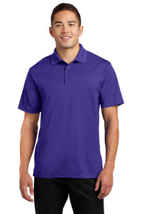 Sport-Tek Purple TST650 business polo shirts embroidered