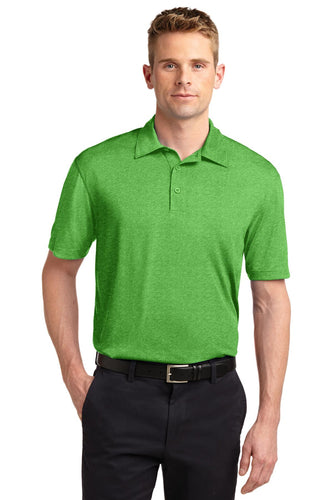 Sport-Tek Turf Green Heather ST660  polo shirts company logos