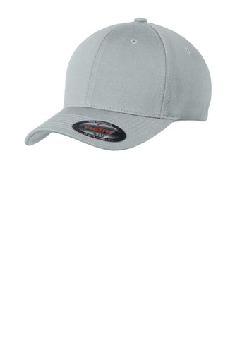 sport tek flexfit cool dry poly block mesh cap grey heather
