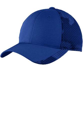 sport tek camohex cap true royal