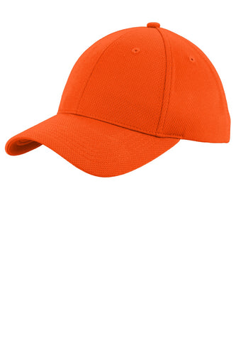 sport-tek_stc26 _neon orange_company_logo_hats