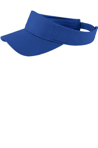 sport tek posicharge racermesh visor true royal