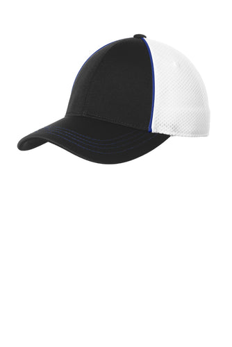 sport-tek_stc29 _true royal/ black/ white_company_logo_hats